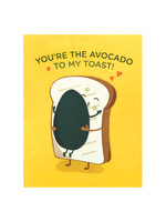 Good Paper Avocado Toast Love Card