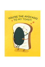 Good Paper Avocado Toast Love Card