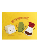 Good Paper Soy Happy Congrats Card