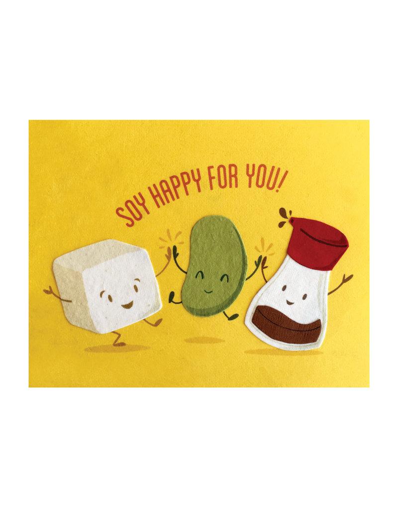 Good Paper Soy Happy Congrats Card