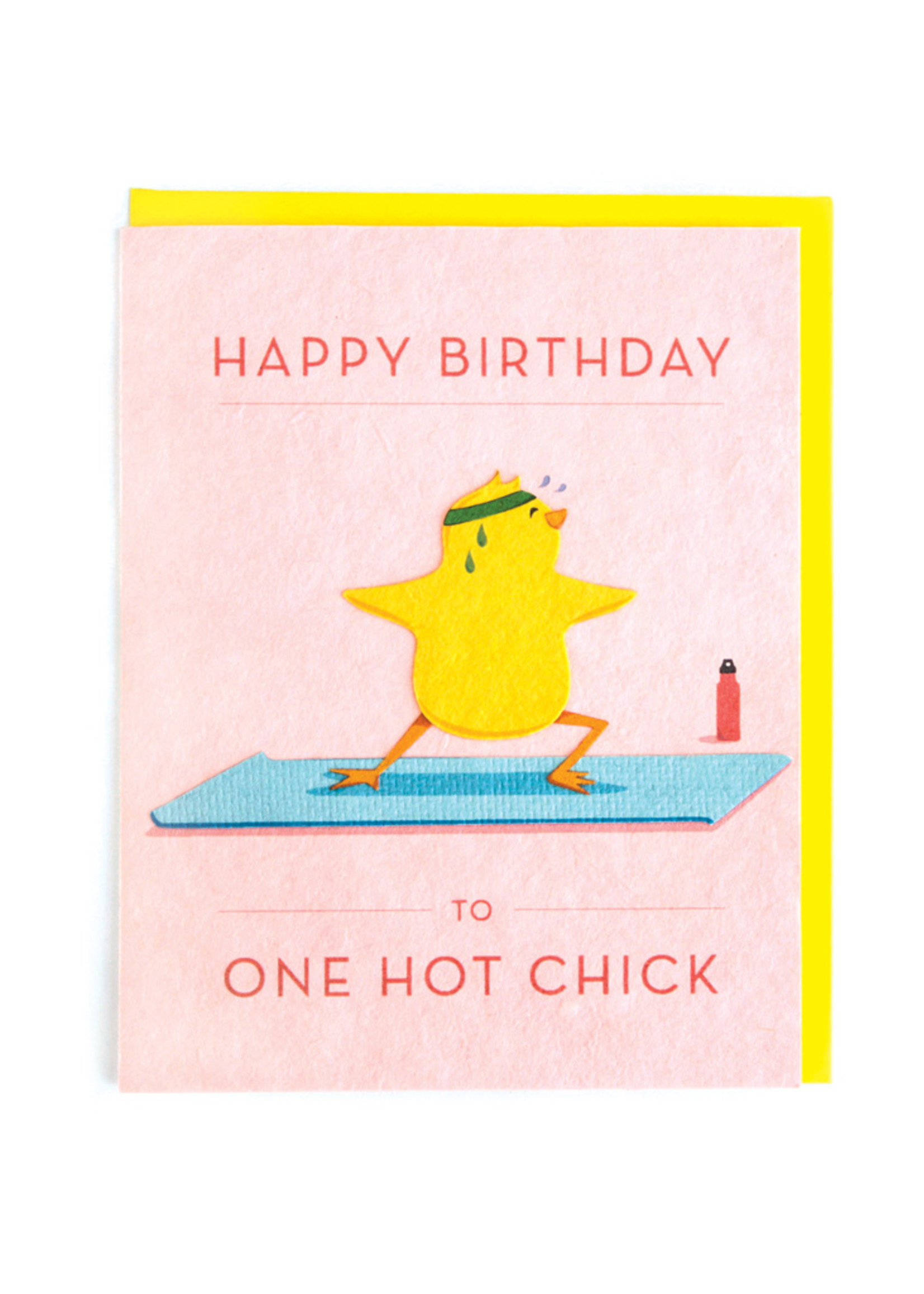 Good Paper Hot Chick Birthday Card