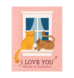 Good Paper Meow and Always Card