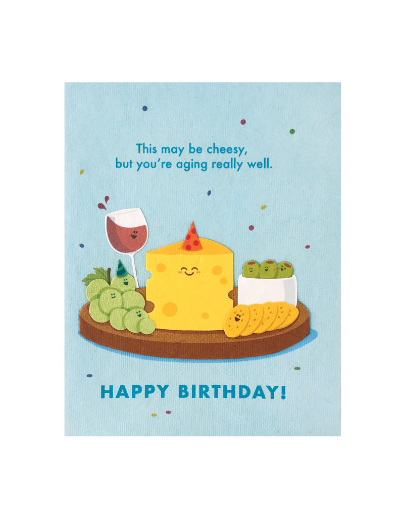 Good Paper Aging Well Birthday Card
