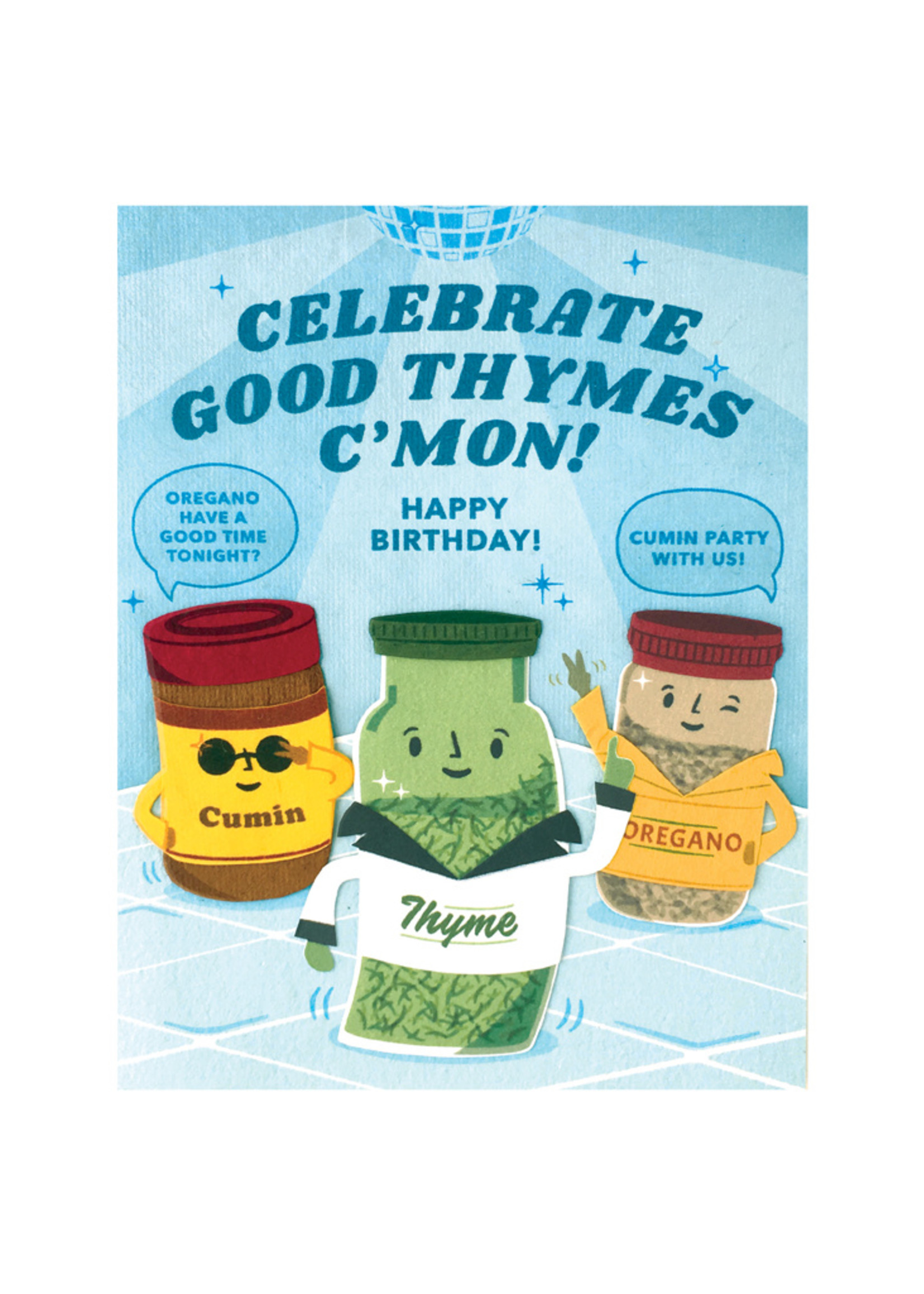 Good Paper Celebration Thyme Birthday Card