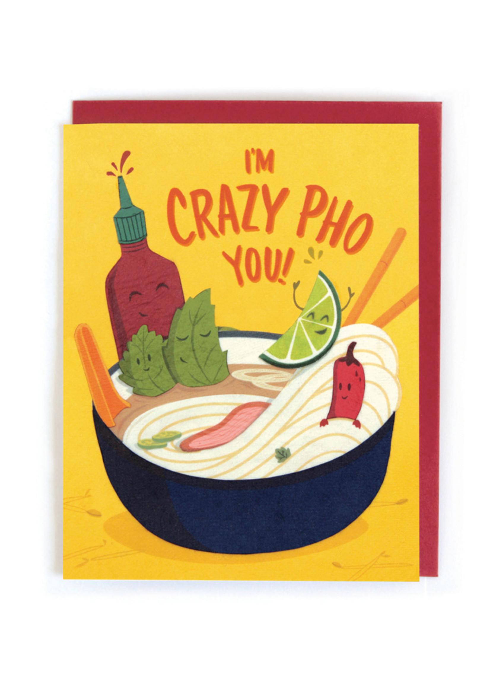 Good Paper Crazy Pho You Card