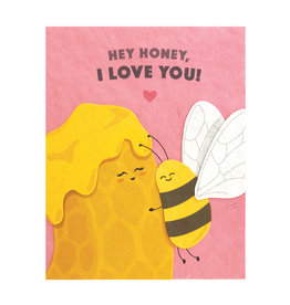 Good Paper Hey Honey Love Card