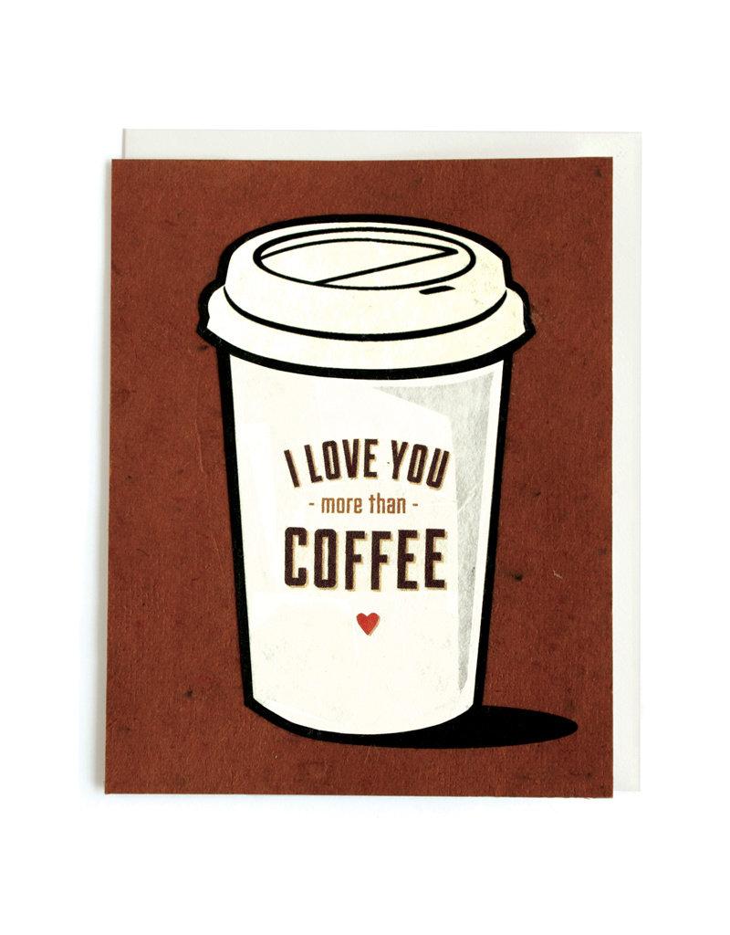 Good Paper Coffee Love Card
