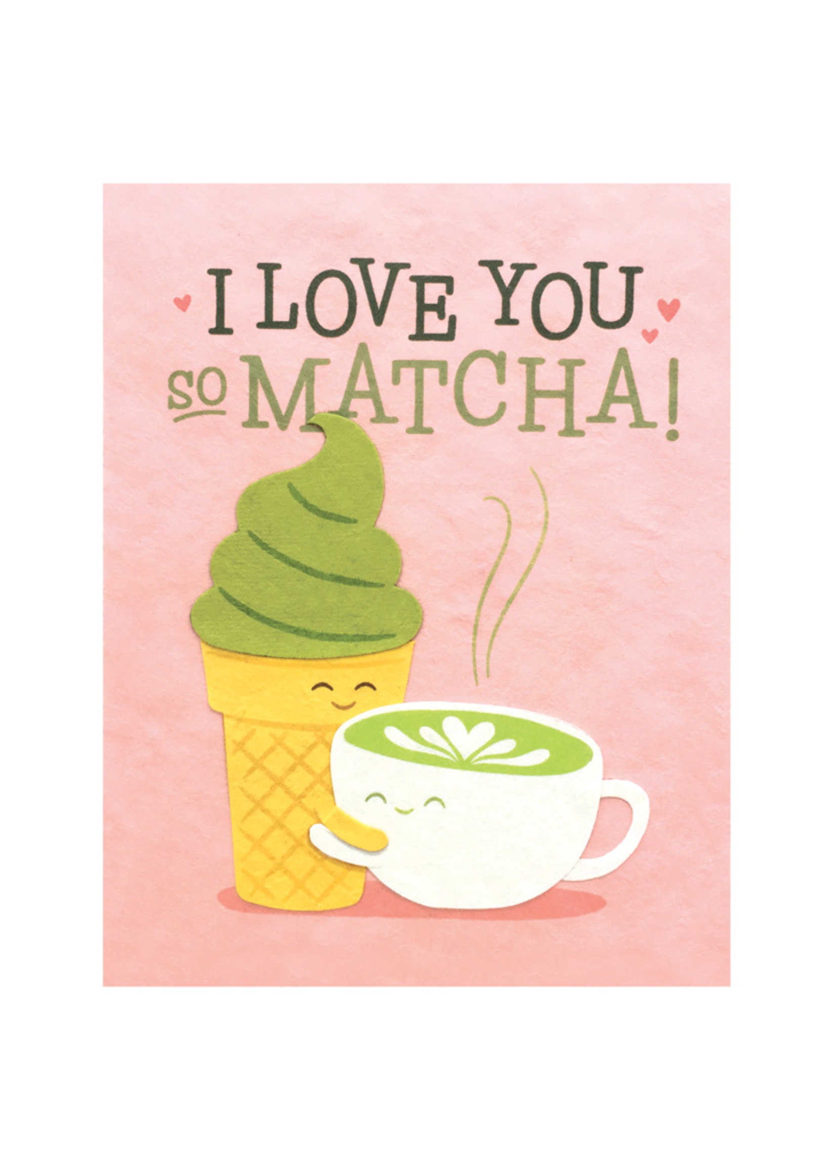 Good Paper Matcha Love Card