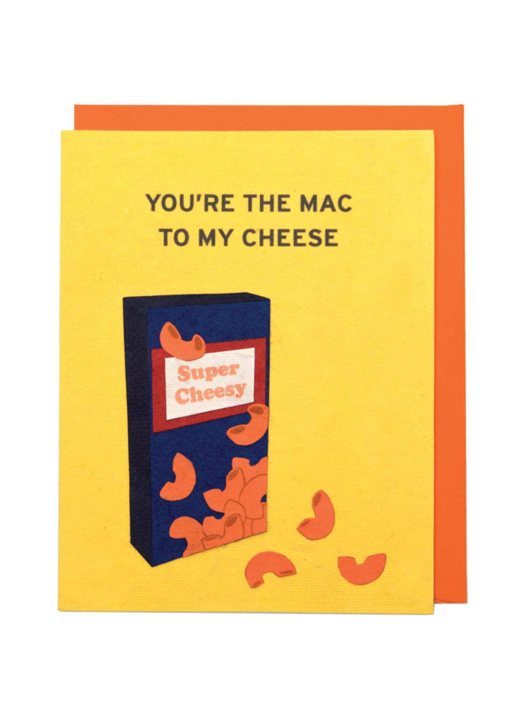 Good Paper Mac n Cheese Card