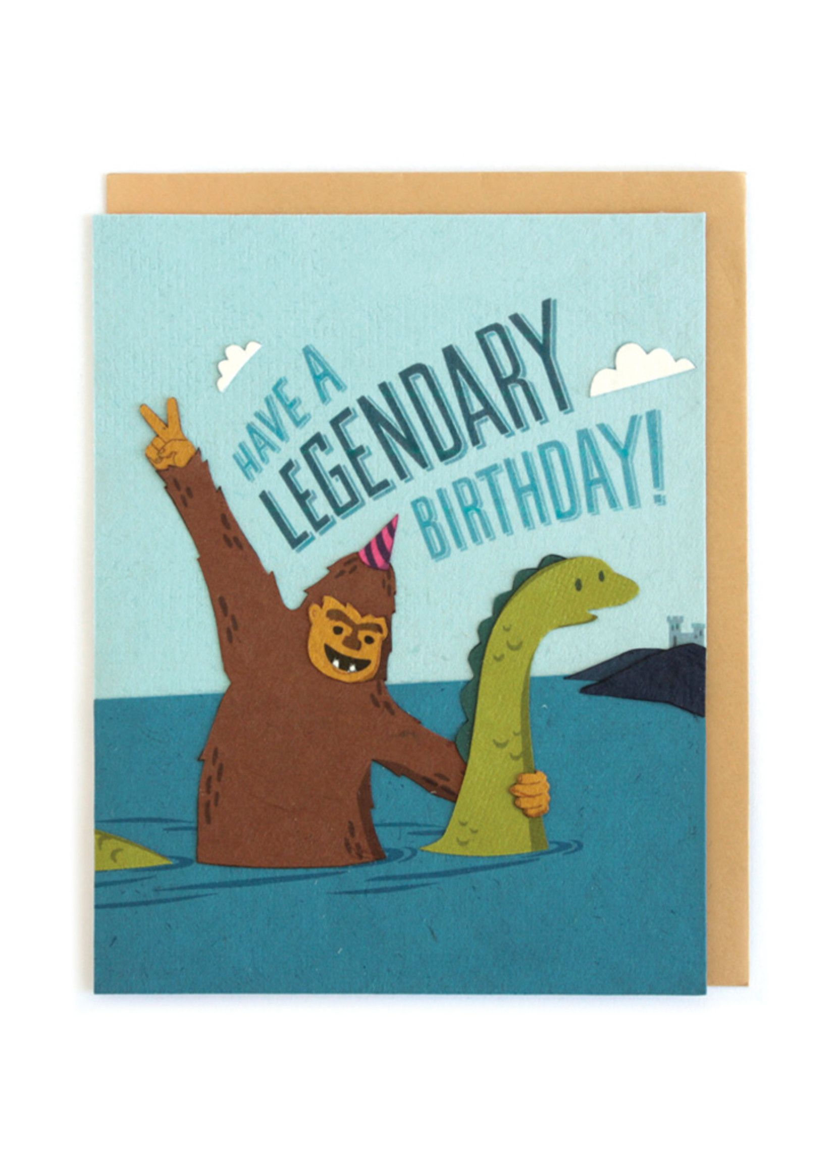 Good Paper Legendary Birthday Card