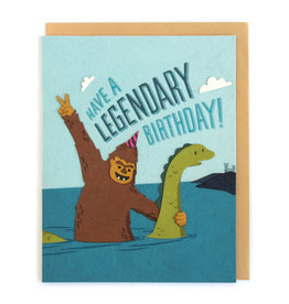 Good Paper Legendary Birthday Card