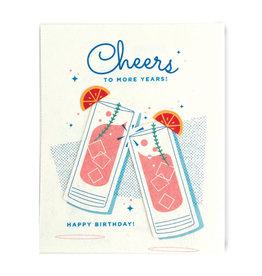 Good Paper Craft Cocktail Birthday Card