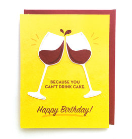 Good Paper Wine Birthday Card