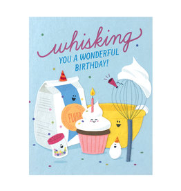 Good Paper Whisking Birthday Card