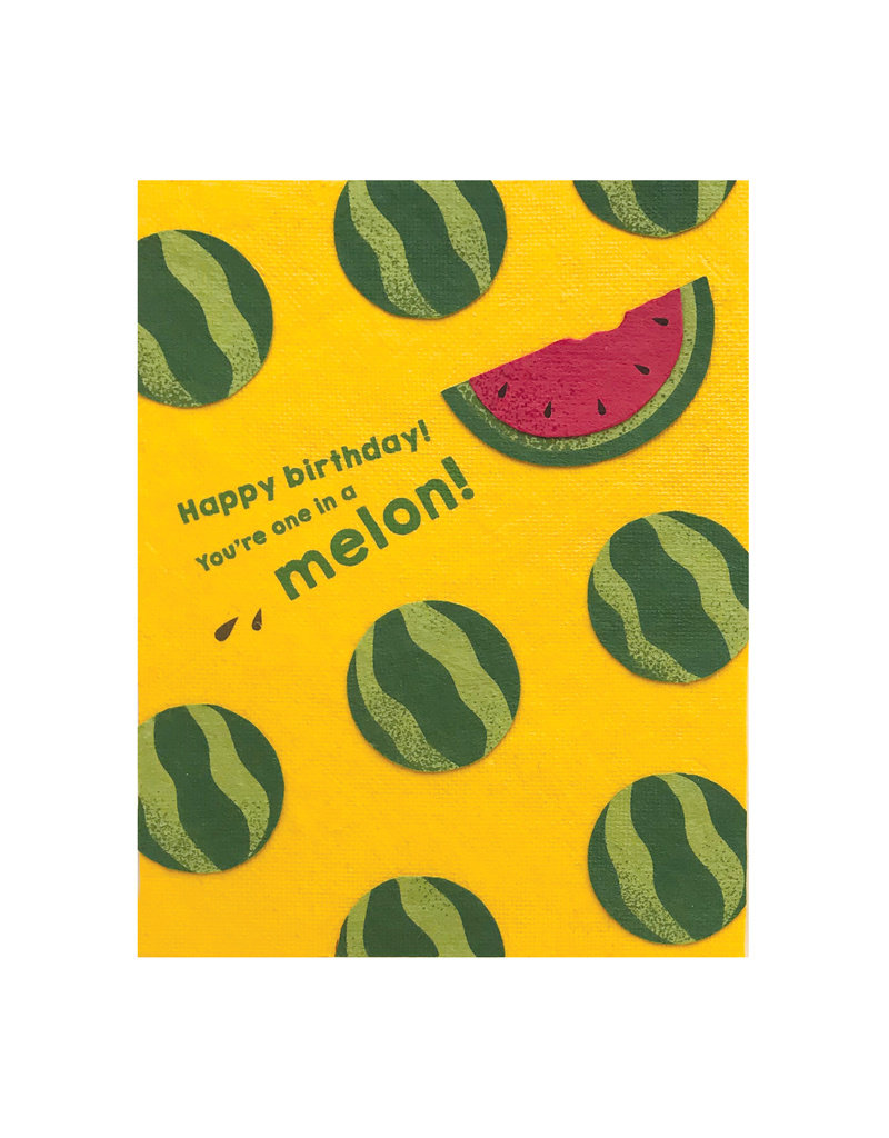 Good Paper One Melon Birthday Card