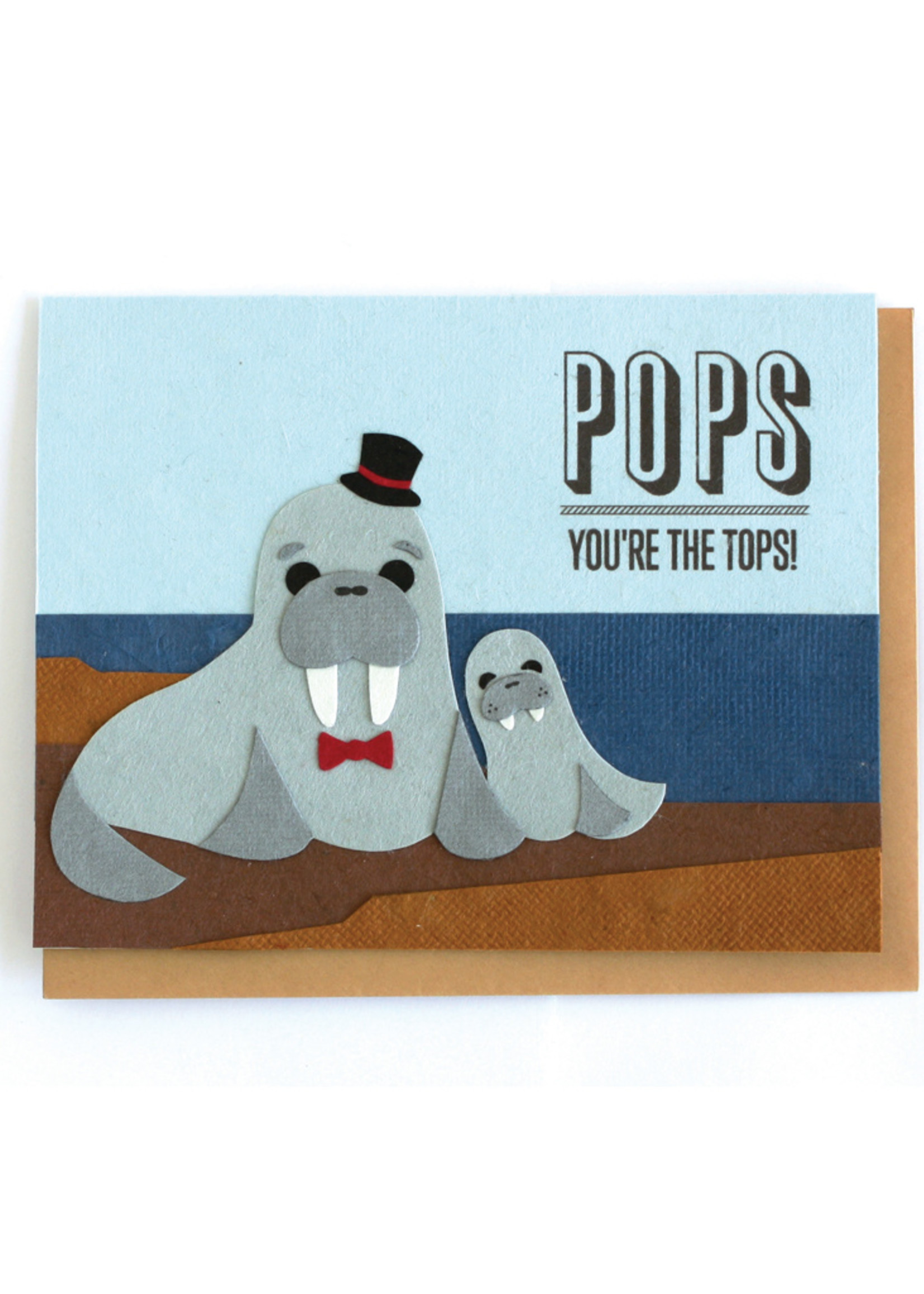 Good Paper Pops You're the Tops Card