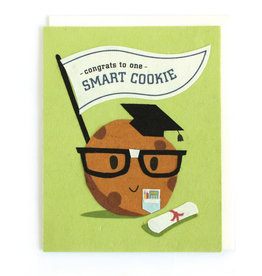 Good Paper Smart Cookie Congrats Card