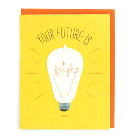 Good Paper Future Is Bright Card
