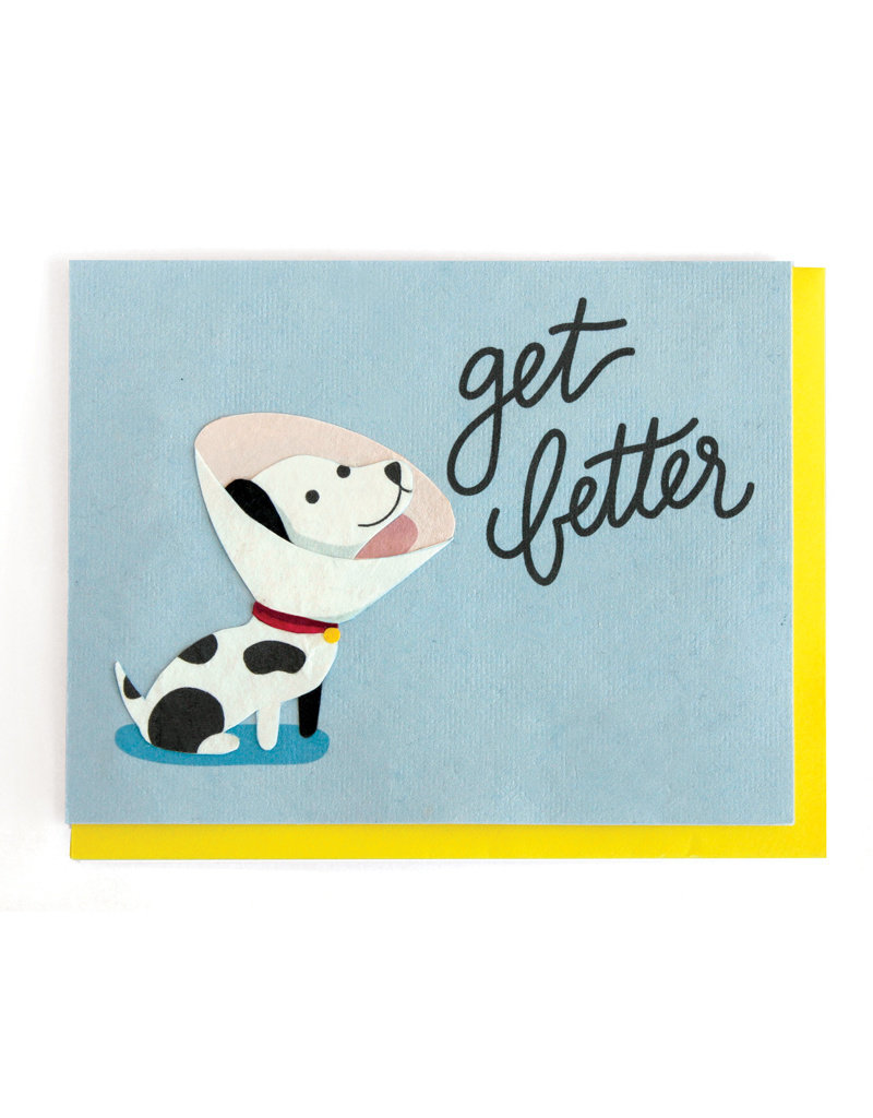 Good Paper Get Better Dog Card