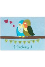 Good Paper Congrats Lovebirds Card