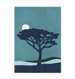 Good Paper Twilight Tree Card