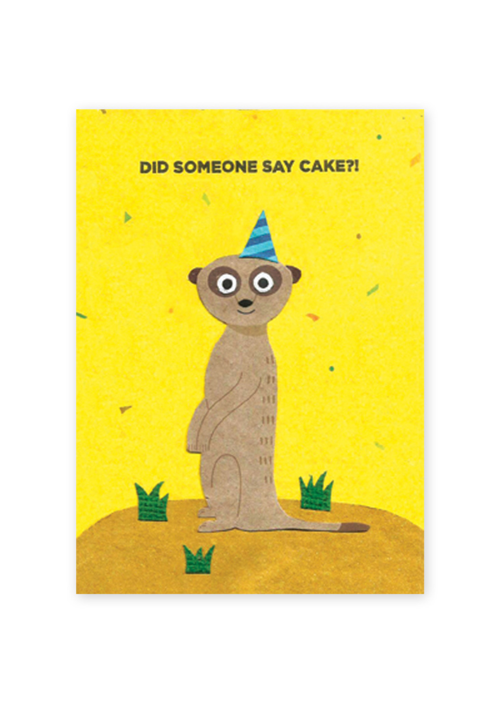 Good Paper Meerkat Birthday Card