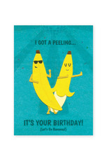 Good Paper Birthday Bananas Card