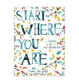 Start Where You Are Journal Book