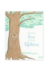 Good Paper Lifetime Love Card