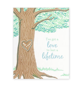 Good Paper Lifetime Love Card