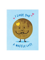 Good Paper Waffle Love Card