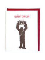 Good Paper Chew Love  Card
