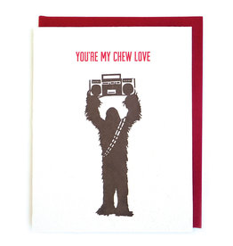 Good Paper Chew Love  Card