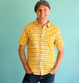 Global Mamas Monsoon Mustard Shirt
