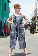 Global Mamas Black Pathways Jumpsuit