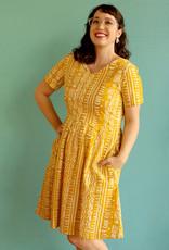 Global Mamas Mustard Verona Pathways Dress