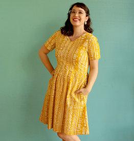 Global Mamas Mustard Verona Dress *Size XL Only*