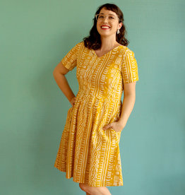 Global Mamas Mustard Verona Pathways Dress