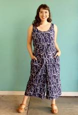 Global Mamas Navy Sisters Jumpsuit
