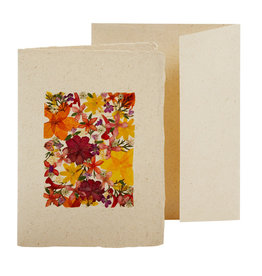 Flower Collage Card