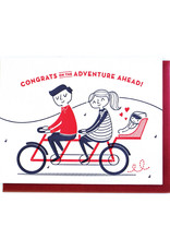 Good Paper Baby Bicycle Card