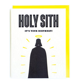 Good Paper Holy Sith Birthday Card