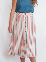 Mata Traders Sunset Stripe Brighton Skirt *Size XL Only*