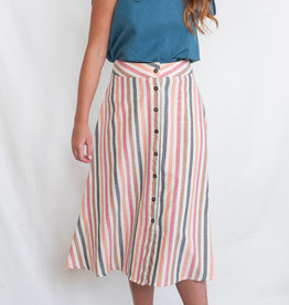Mata Traders Sunset Stripe Brighton Skirt