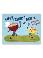 Good Paper Dad's Little Grill Card