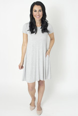 BYTAVI Luna Pocket Swing Dress