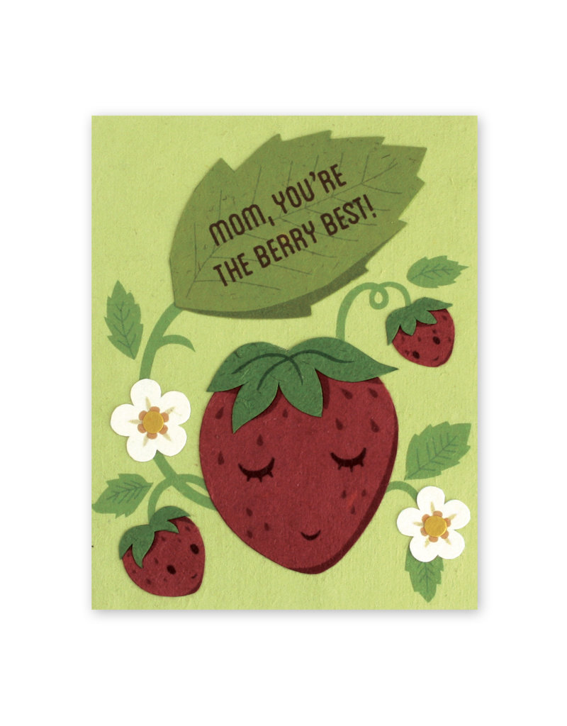 Good Paper Berry Best Mom Card