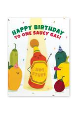 Good Paper Saucy Gal Birthday Card