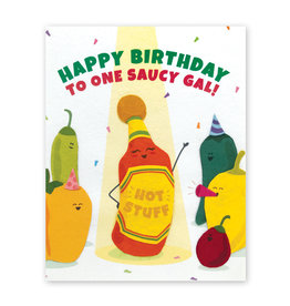 Good Paper Saucy Gal Birthday Card