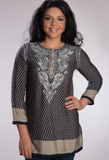 Black Deena Tunic